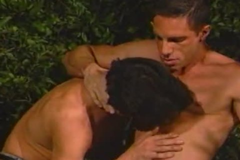 Jackson And Allen have a enjoyment guy Love In The Trees