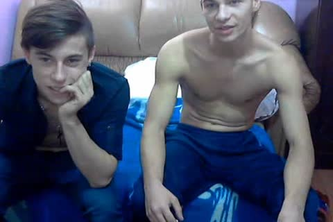 two handsome bisex Romanian boyz With admirable dongs & sleazy asses On cam.