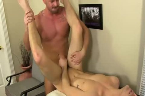 lustful Boss Mitch Vaughn bonks Dustin Fitch In His butthole