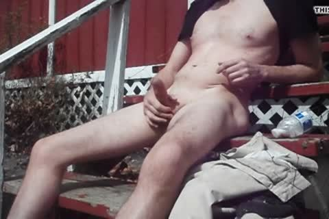 Outdoor enjoyment On Sunny Day, sperm shot