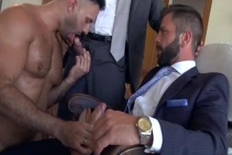 Muscle homo threesome And cream flow